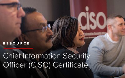 Chief Information Security Officer (CISO) Certificate