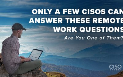 Only a Few CISOs Can Answer These Remote Work Questions