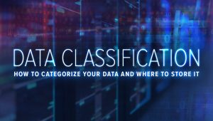 Data Classification: How to Categorize Your Data and Where to Store It