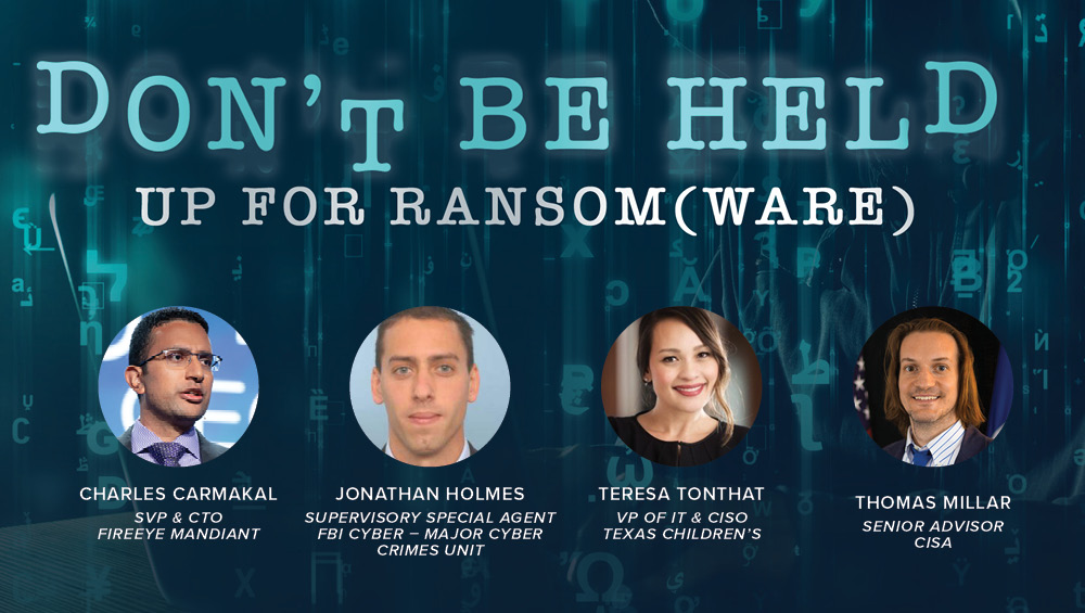 Don't Be Held Up for Ransom(ware)