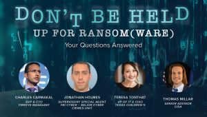 Our Ransomware Panelists Answer Your Questions