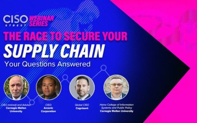 Our Supply Chain Panelists Answer Your Questions