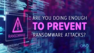 Are You Doing Enough To Prevent Ransomware Attacks?